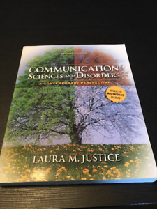 Communication Sciences and Disorders Textbook *CD Included