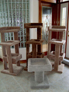 Cat Condos / Tree Houses & Scratching Posts- Made Very Strong!