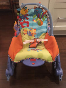Fisher Price Vibrating/Rocker Baby Seat - Excellent Condition