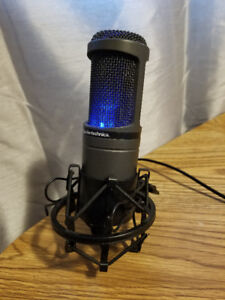 Audio Technica AT2020 USB Mic + Shock Mount