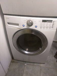 lg frontload washer and dryier
