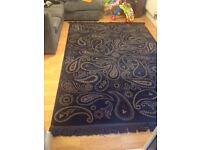 Beautiful large paisley rug for sale