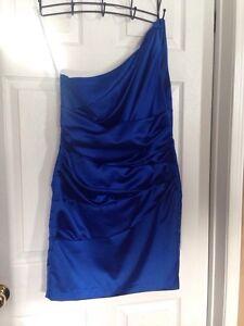 Horizon Blue One Shoulder Dress Cornwall Ontario image 5