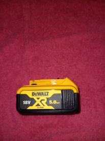 DeWalt DCB184 5ah Battery