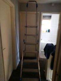 5 foot heavy duty aluminium platform ladder