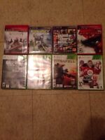 Xbox 360 and PS3 games for sale