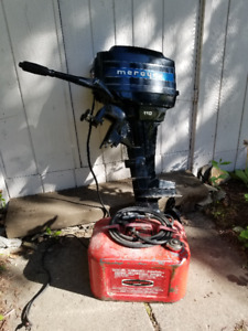 9.8 HP Merc 110 Outboard for Sale