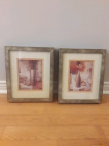 Framed prints from Bowring, matching set