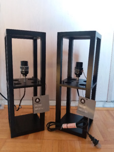 NEW: Set of two table lamp - $60