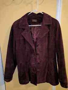 Beautiful suede jacket! From Danier !