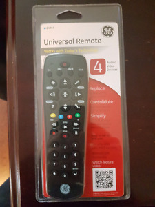 GE Universal Remote (Brand New in package)