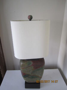 Large colourful Table Lamp