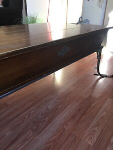Antique living room table