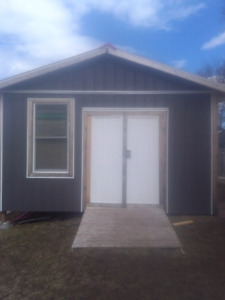 16'x16' shed