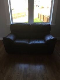 2 and 3 seater leather sofas for sale