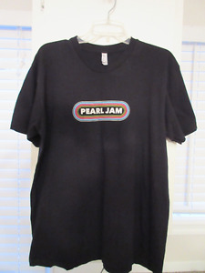 Rock t-shirts and Pearl Jam 2016 Tour (Rainbow front)