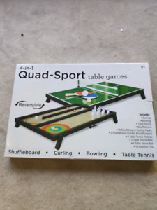 Quad-Sport Table Games