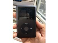 Apple iPod classic 7th gen 120GB black loud
