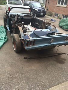 1967 1968 Mustang Southern Donar for converting fastback,or conv