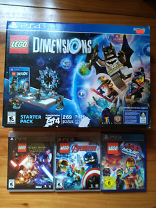 Jeux Lego games ps3 ps4