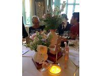 Job Lot Shabby Chic Mixed Wedding Table Set