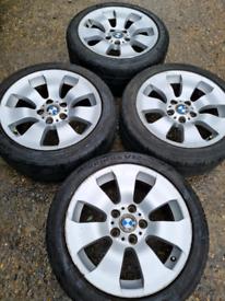 "17"" BMW 3 series E90/E91/E92 alloy wheels style 158 (340)"
