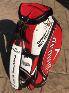 Callaway Great Big Bertha Staff Bag Autographed by Adam Hadwin