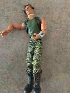 GI Joe Figurine in Combat Fatigues