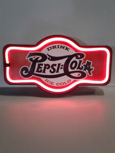 CLASSIC GAS OIL BEER AND SODA NEON SIGNS