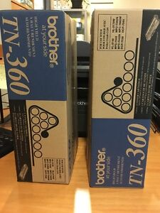 Two for one TN-360 Cartridges Black at Cambie & Broadway