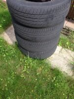 4 summer tire with rims civic 06-15