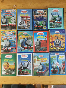 16 Thomas the tank engine DVDs