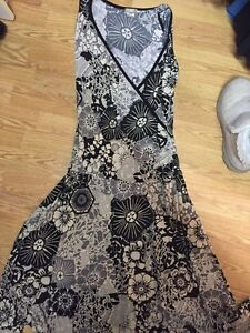 Beautiful Printed Dress Size L