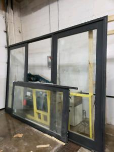 3 panel sliding door