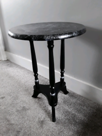 Side table, upcycled.