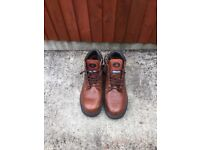 Brown leather size 8
