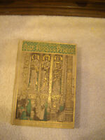 Antique Book in French with Beautiful Gold Embossed Cover