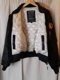 Mens vintage Kangol puffer jacket.