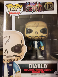 "FUNKO Pop Heroes Series #103 Diablo from ""Suicide Squad"""