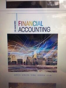 Financial accounting 5th ed hardcover