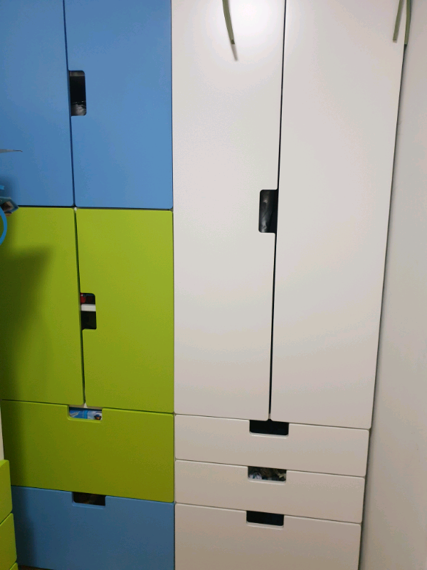 Ikea Stuva kids bedroom furniture ONLY 3X WHITE WARDROBES LEFT | in Perth,  Perth and Kinross | Gumtree