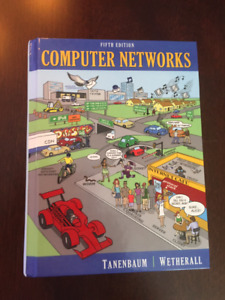 Textbook, UFV, Computer Networks, fifth edition