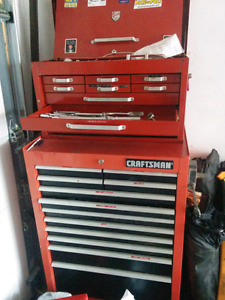 Tool chests top and bottom