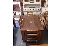 Everything brand new,Solid oak dining table