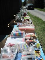 Yard Sale, Monster, items from 25 cents and up.