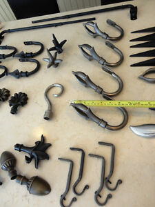 Over 150 Pc. Curtain Finial, Bath & Bedroom Hook Decor & MORE!!! Kitchener / Waterloo Kitchener Area image 3