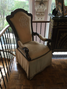 Designer Upholstered Dining Chairs