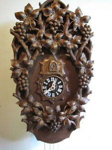 One of the kind cuckoo clock. Mint, new hand carving!
