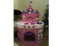 FREE TO COLLECTOR - Pink Girls Disney Princess Kitchen