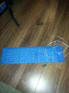 Portable keyboard ...flexible storage ..usb
